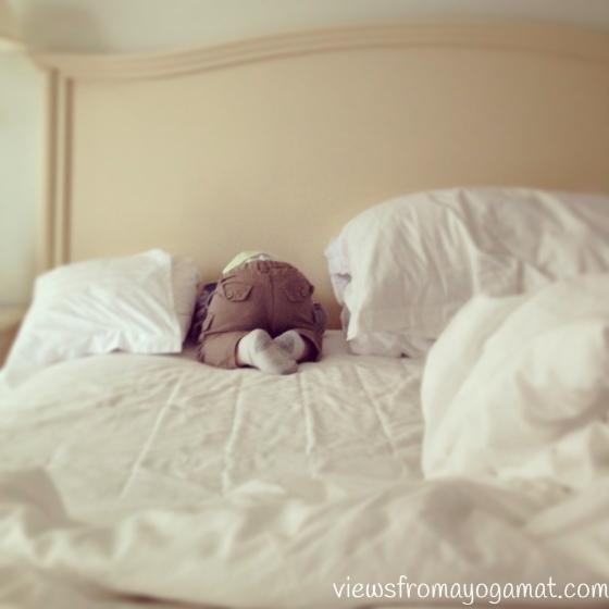 Tooshie nap.